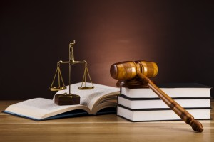 The Law Student Scholarship - Justice Scale And Gavel