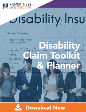 Disability Claim Toolkit & Planner